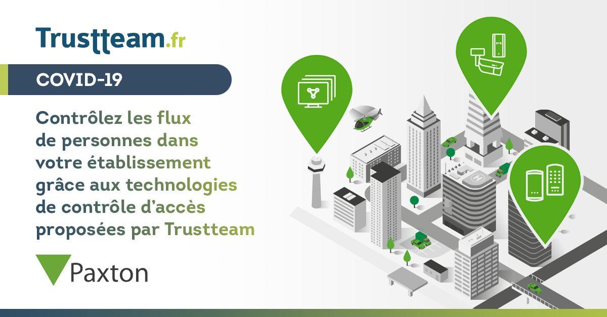 controle-accès-paxton-trustteam
